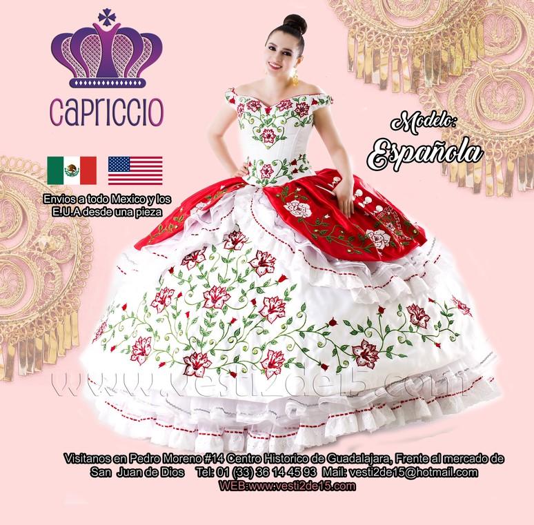 963c2a6ad es una exelente idea preparar tu fiesta con muchos detalles tipicos  mexicanos que te aran lucir en tu fiesta de 15 años espectacular ya que  estos vestidos ...