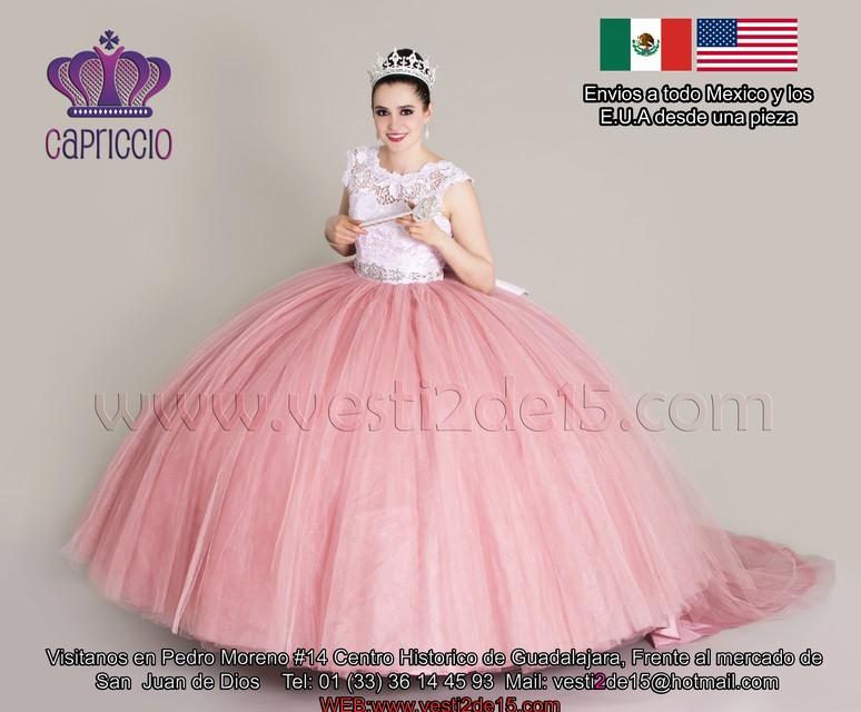 Vestidos corte a mexico