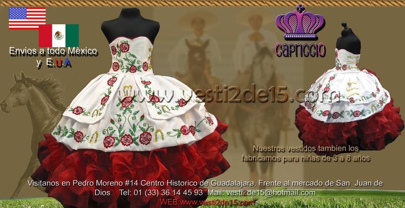 F6c5c73dff Vestidos De Charra Para Tres A Os